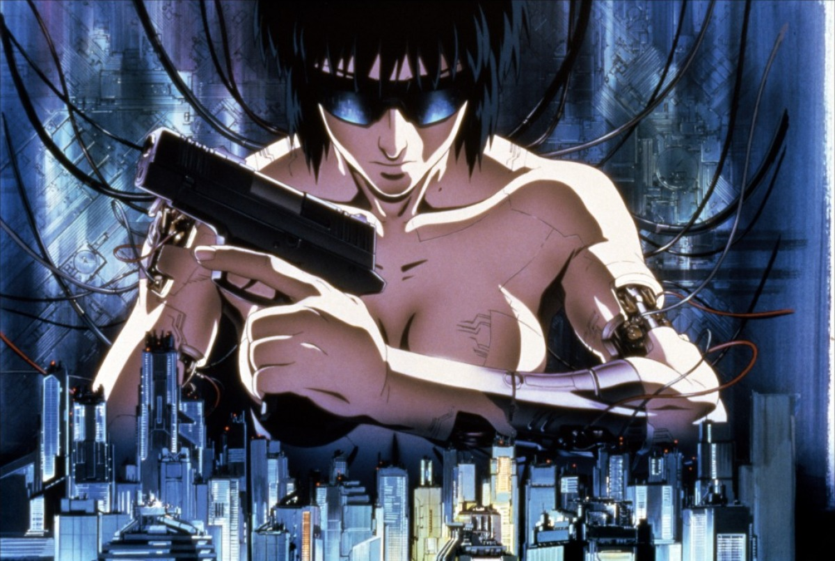 Les mangas qui vont ont marqué  Ghost-in-the-shell