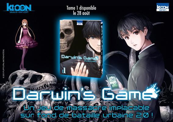 Darwin's Game Vol. 1 © Ki-oon