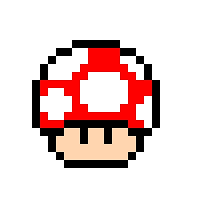 Dessin Pixel Mario Bowser
