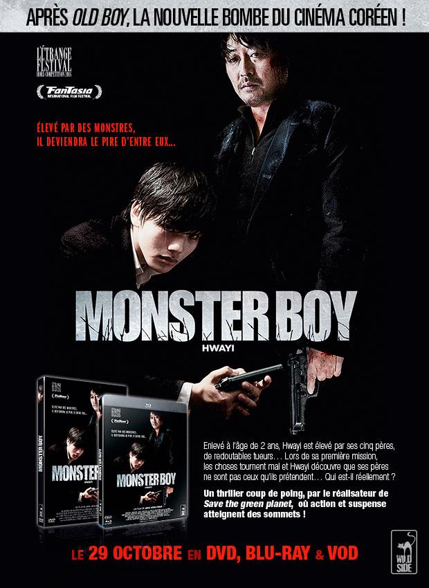 Monster Boy HWAYI en DVD, Blu-ray et VOD