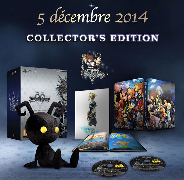 Kingdom Hearts HD 2.5 ReMIX Collector's Edition -contenu-