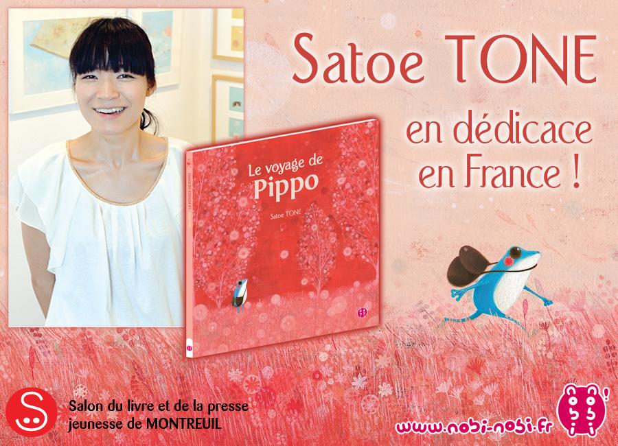 Satoe Tone en dédicace en France