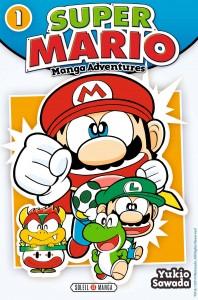 Super Mario Manga Adventure 1 -nouvelle couverture-