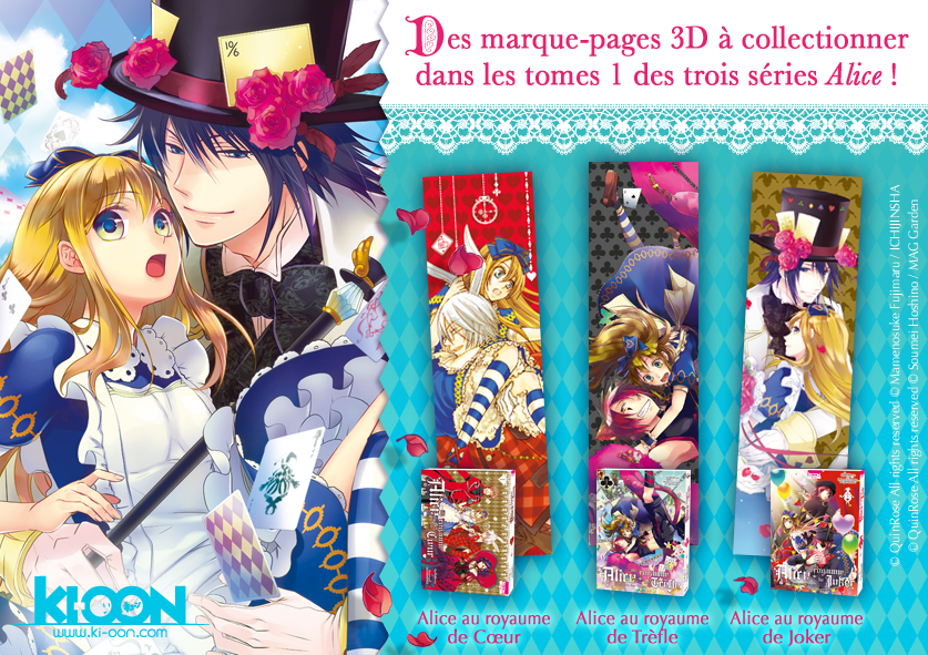 Alice Annonce Marque-pages