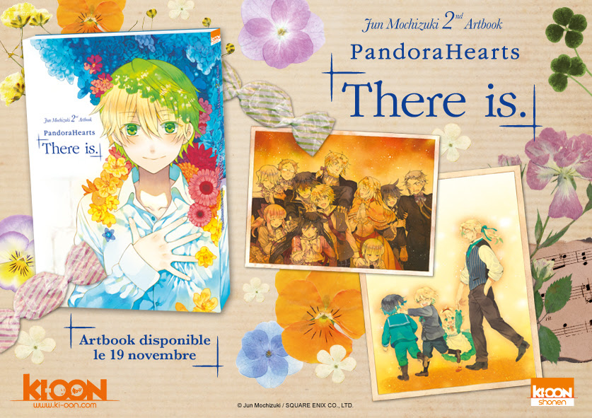 Pandora_Hearts_There_Is_artbook_Ki-oon