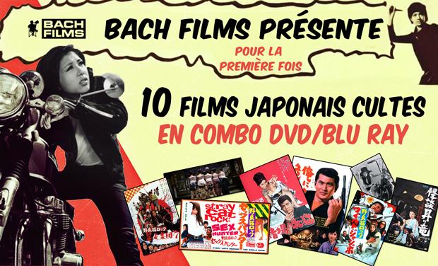 un crowdfunding pour 10 films japonais cultes en combo dvd blu ray zero yen media. Black Bedroom Furniture Sets. Home Design Ideas